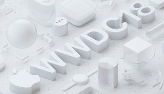 Apple WWDC 2018 logo del evento