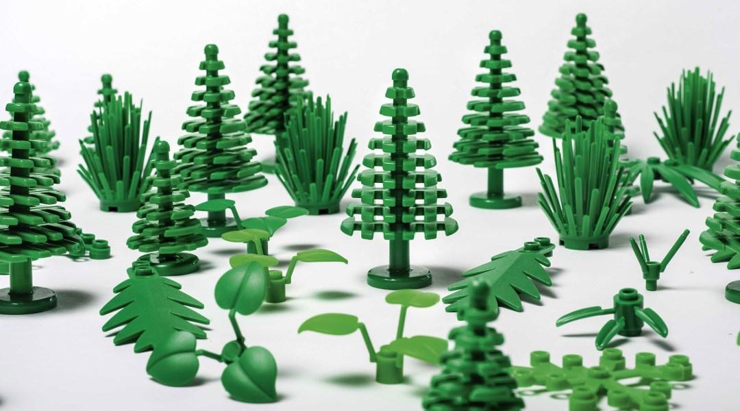 Bloques sustentables de LEGO