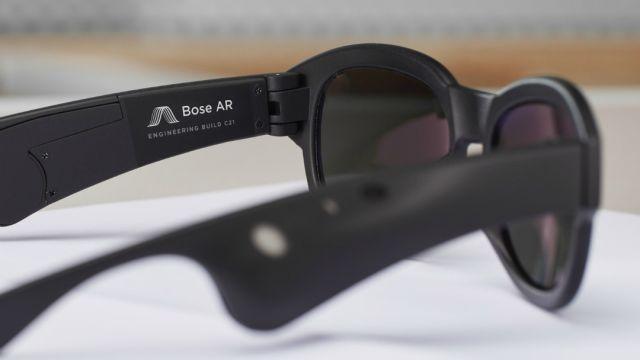 Bose creará unas gafas de realidad aumentada enfocadas en el sonido
