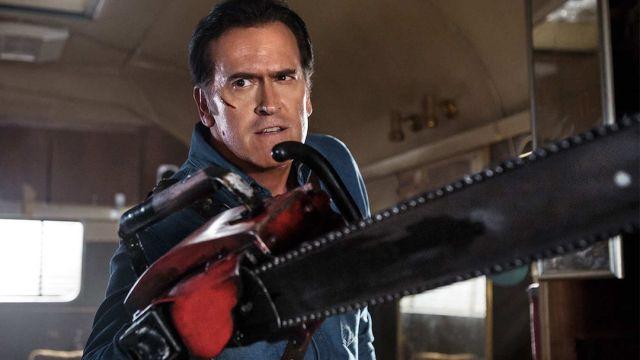Bruce Campbell como Ash en Ash vs Evil Dead