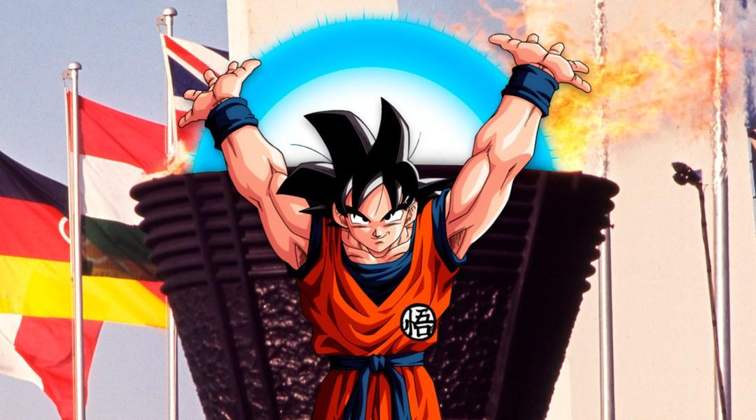 Podra Goku Encender La Antorcha Olimpica De Tokio 2020