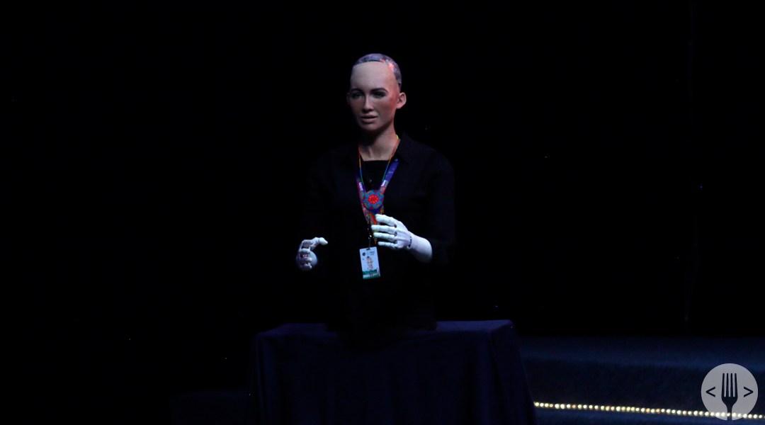 Sophia, el primer robot inteligente con ciudadanía, se ha presentado en México