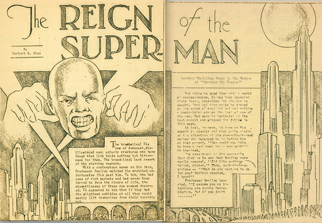 Hoja de The Reign of the Super man