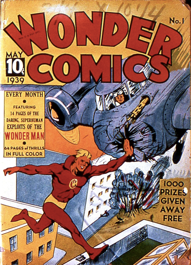Wonder Man un personaje de Will Eisner