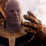 Thanos con el guantelete del infinito