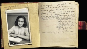 "Descubren páginas inéditas del diario Ana Frank con chistes ""sucios"""