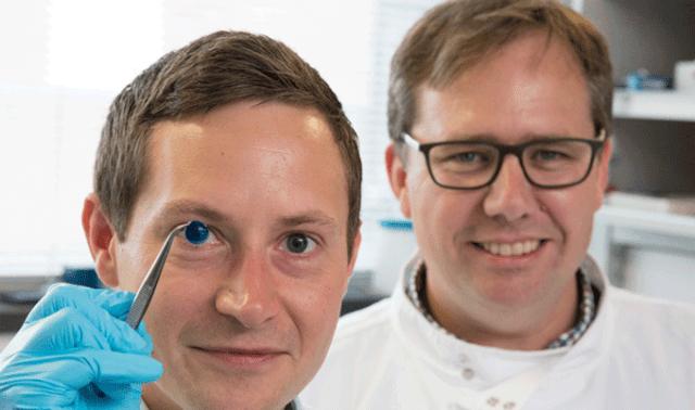 Científicos logran imprimir córneas en 3D