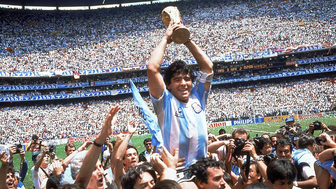 Maradona México 86