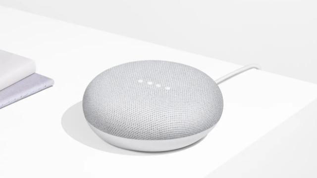 El Google Home Mini en toda su gloria