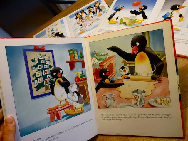 Dibujos de Tony Wolf sobre Pingu, el pinguino.