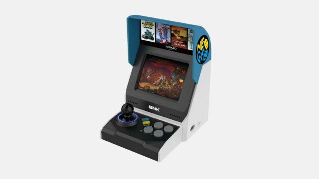 Filtran imágenes de lo que podría ser la nueva Neo Geo Mini