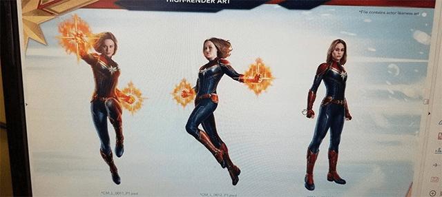 Imágenes filtradas de películas de Marvel Studios.