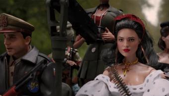 Eiza González en la nueva película de Universal
