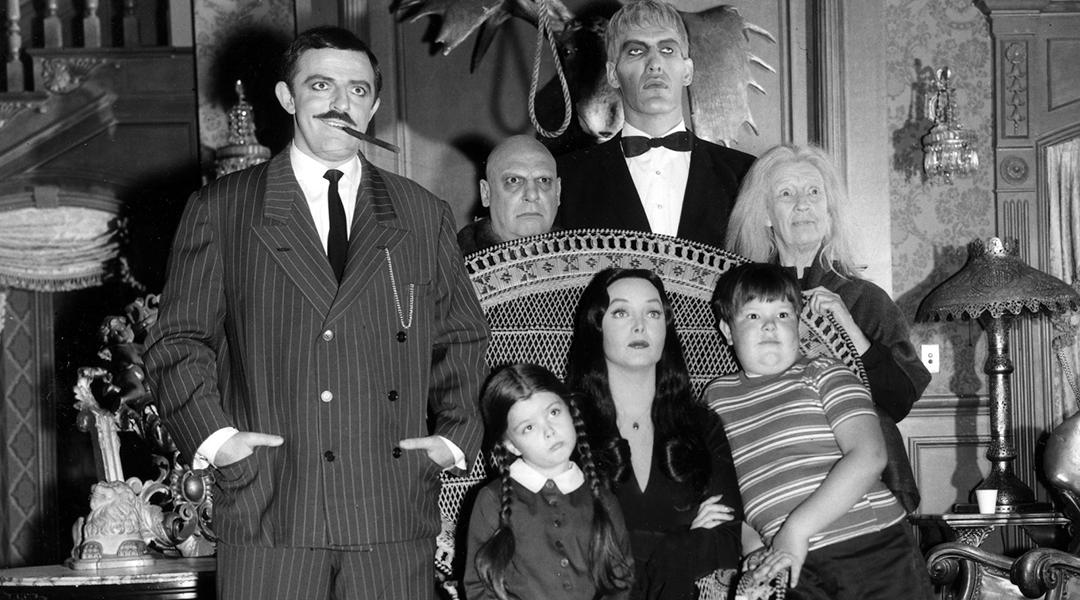 La familia Addams de los años sesenta