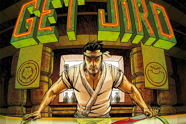 Get jiro, un cómic de Vertigo realizado por Anthony Bourdain