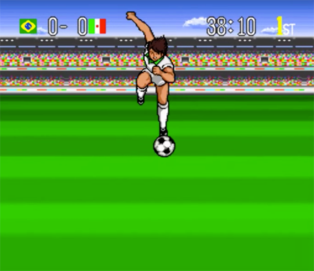 Imagen de Captain Tsubasa 4, juego de SNES.