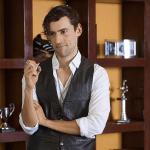 El actor Luis Gerardo MEndez en una escena de una serie