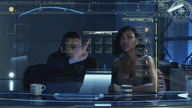 Imagen de la película Minority Report