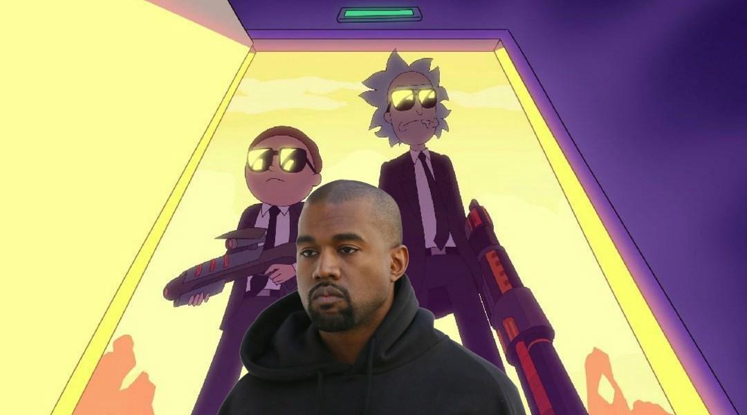 Rick & Morty hicieron una canción cumpleañera a Kanye West