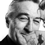 Robert De Niro con el joker