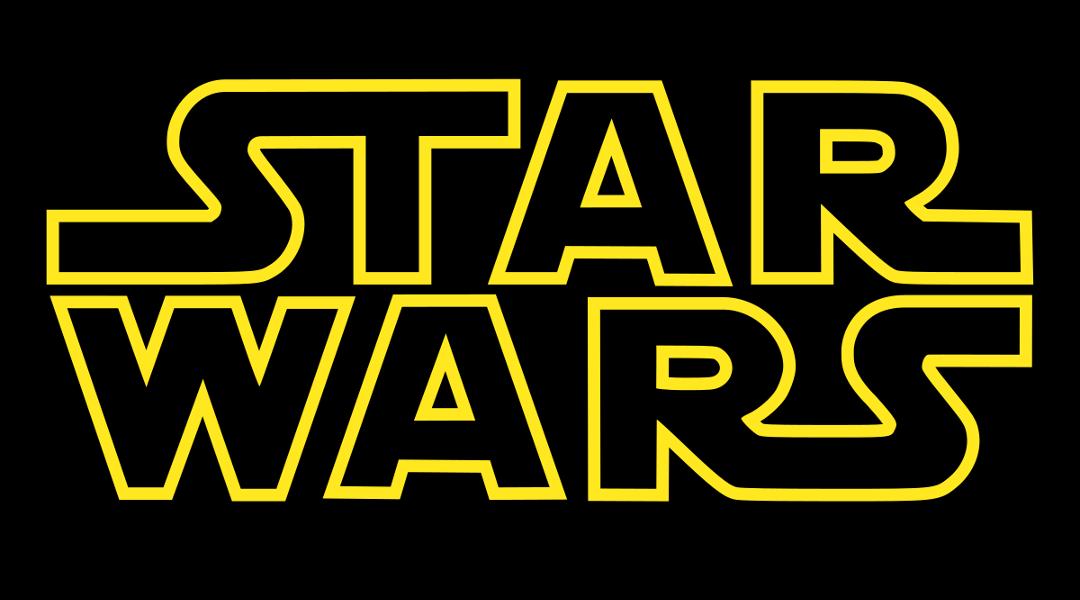 Star Wars Logo, con fondo negro