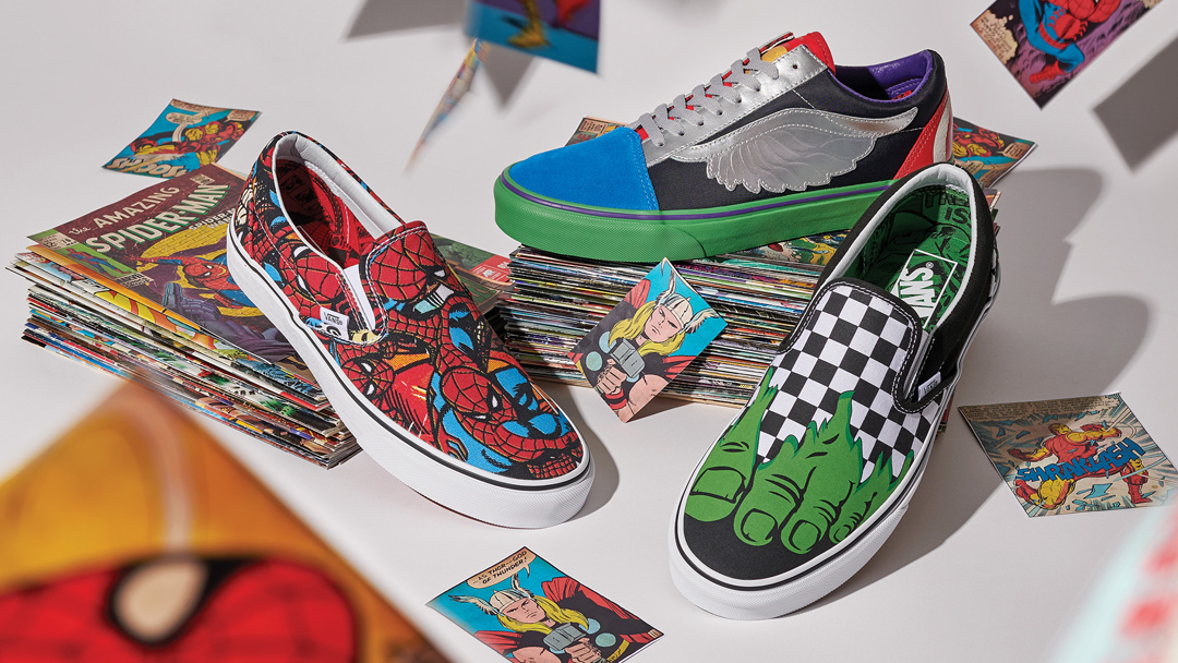 Así son los nuevos Vans inspirados en los héroes de Marvel ...