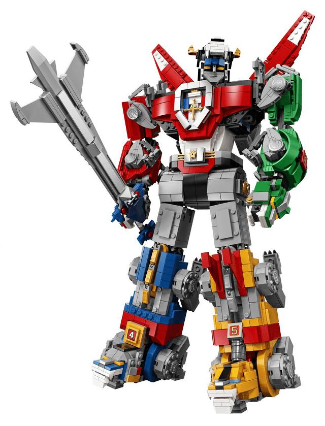 El set de Voltron que lanzará Lego