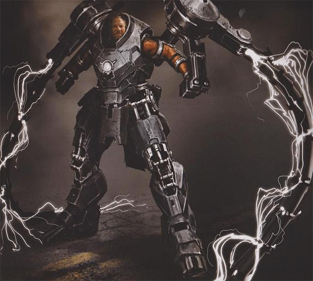 diseños de la preproducción de Iron Man 2