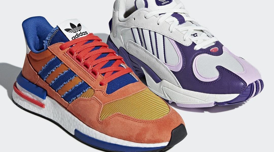 reputable site 2a528 13f86 Dragon Ball, Adidas tenis inspirados en la serie