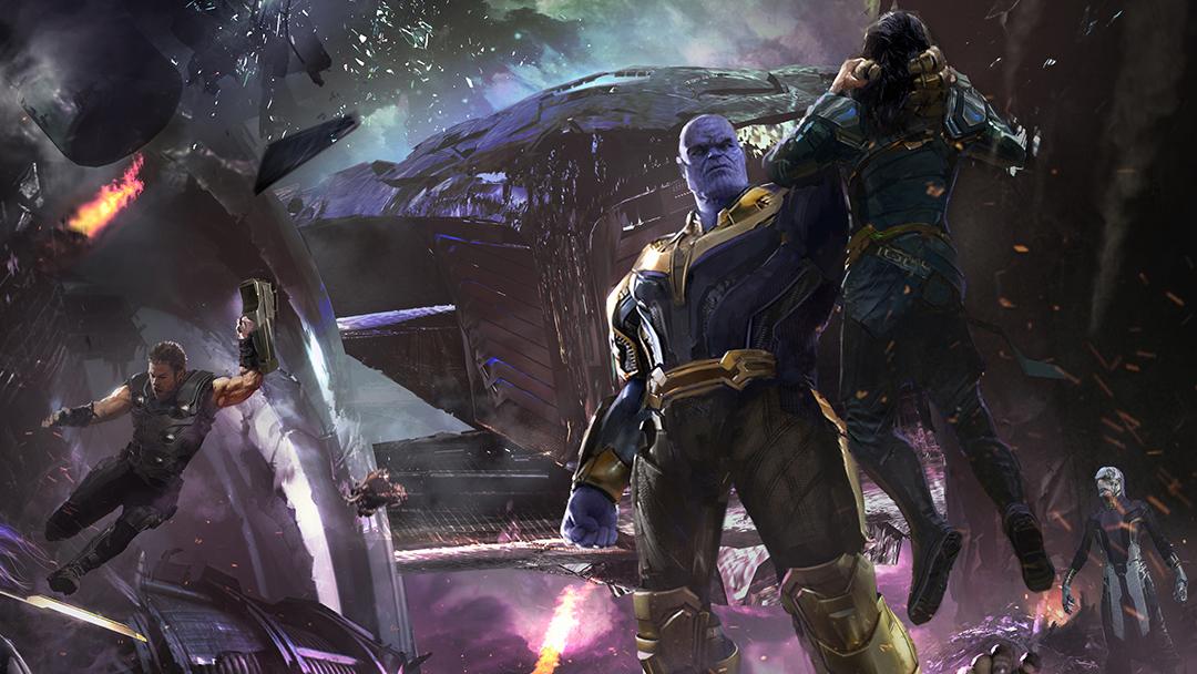Imagen del arte conceptual de infinity War