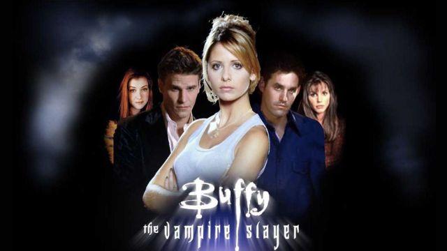 Poster promocional de Buffy la caza vampiros