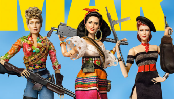 Fragmento del póster de Welcome to Marwen