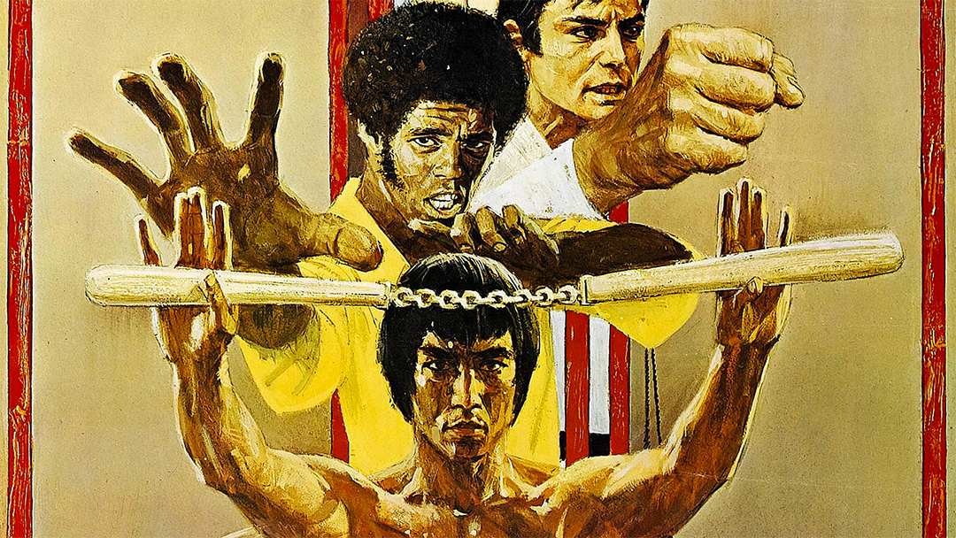 Poster de Enter the Dragon, película de Bruce Lee