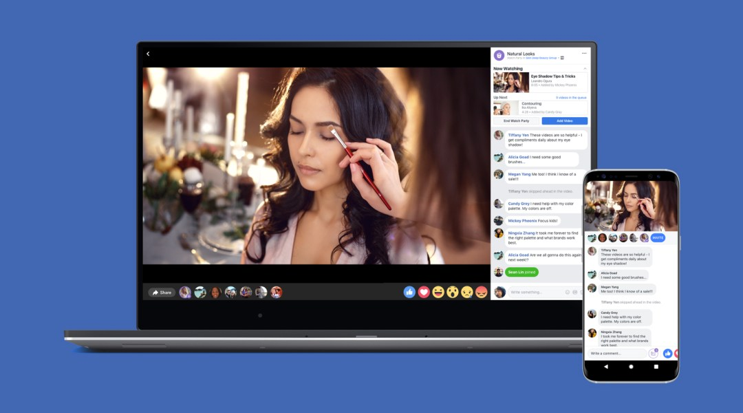 Watch Party: la herramienta de Facebook para ver videos