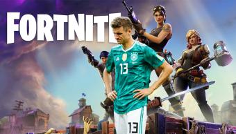 Uno de los jugadores de Alemania sobre Fortnite