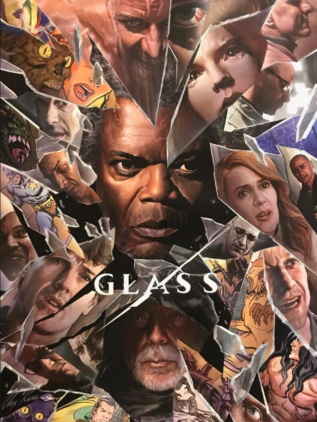 Póster de Glass especial para la Comic-Con 2018