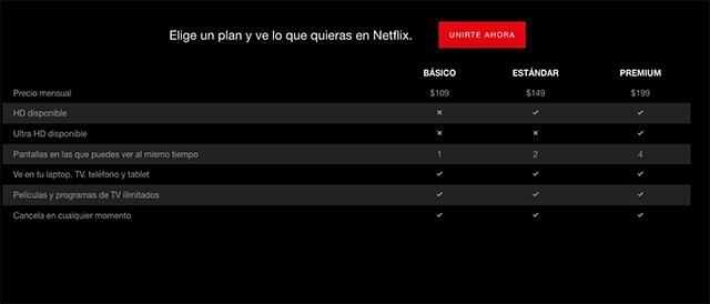 imagen de Netflix, la plataforma de videos