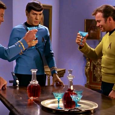 Una imagen de un capítulo de la serie Star Trek