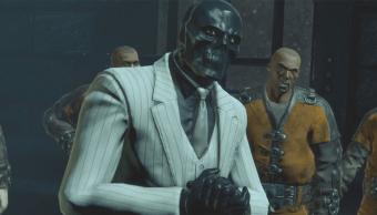 El villano Black Mask, también conocido como Máscara Negra