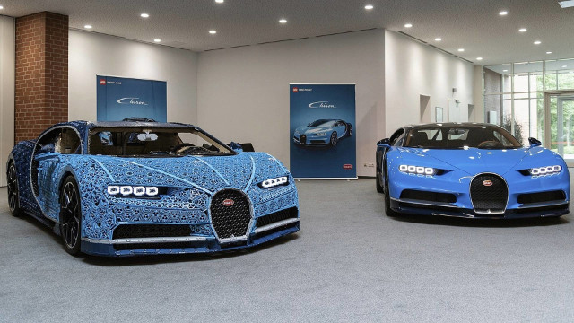 Bugatti Chiron/Lego