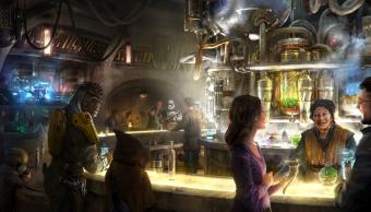 La cantina de Star Wars que estará en el parque de Disney