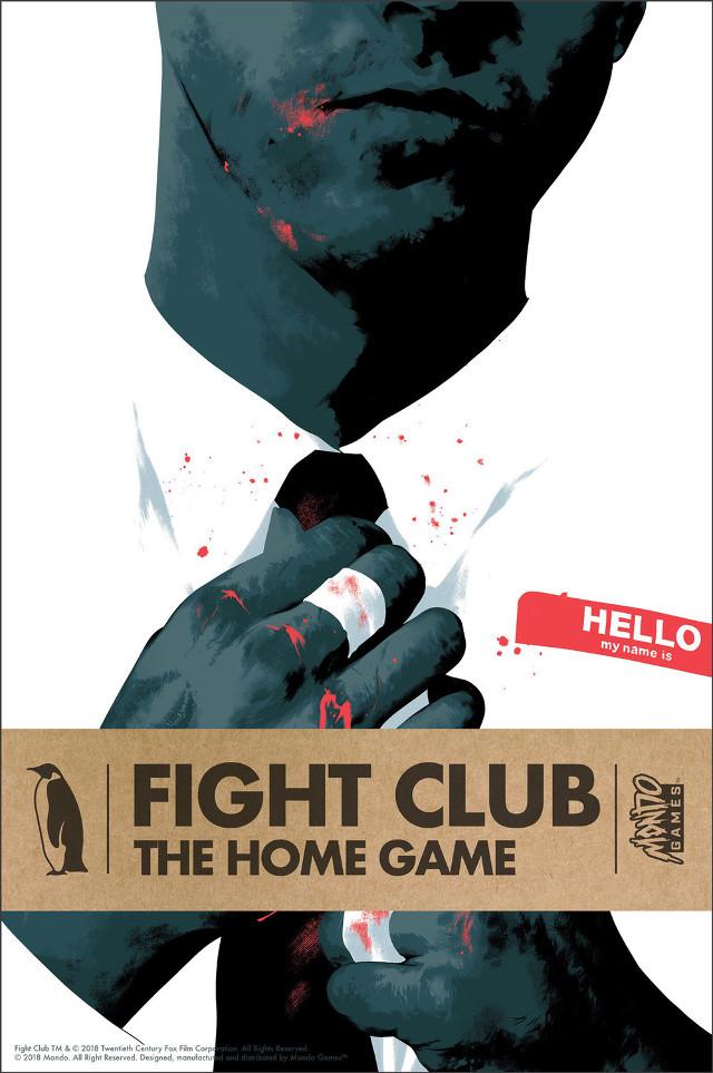 Portada de Fight Club: The Home Game (Mondo)