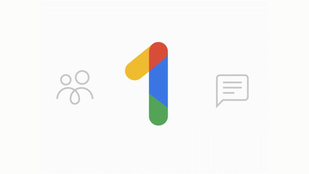 El logo de la nueva app Google One
