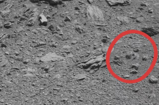 Jabba the Hutt marciano captado por el Cursiosity  (NASA)