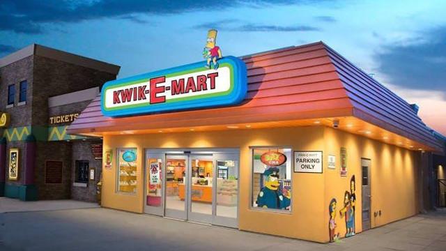 primer Kwik-E-Mart del mundo (SimEx-Iwerks Entertainment)