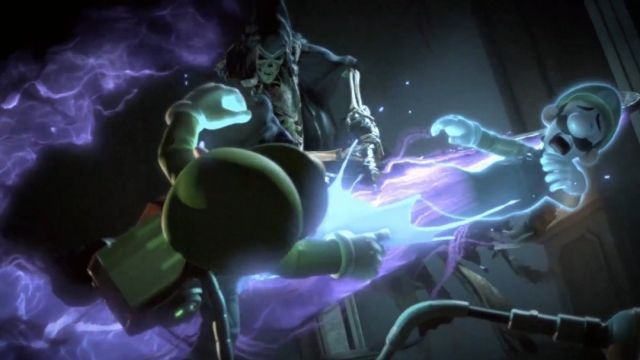 Luigi muere en Super Smash Bros Ultimate