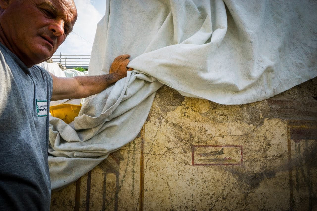 Pinturas murales Foto: Cesare Abbate / Parco Archeologico di Pompei