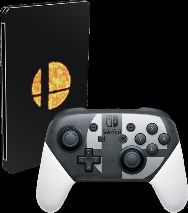 Pro Controller de Switch especial de Super Smash Bros. Ultimate 2