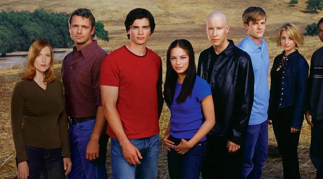 Imagen promocional de la serie Smallville