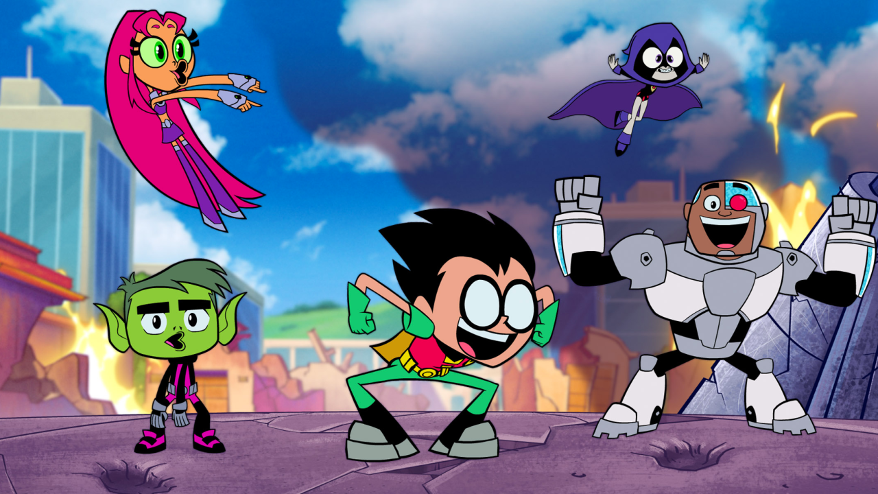 Fragmento de la película Teen Titans Go! to the Movies